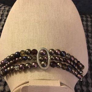 Swarovski Pearl and Bead Bracelet